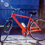 city trekking bicycle